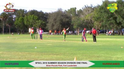 2018 Summer Season Division One Final- Hustlers vs Hurricanes- 3rd Over