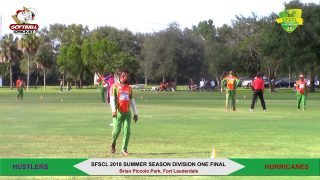 2018 Summer Season Division One Final- Hustlers vs Hurricanes