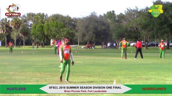 2018 Summer Season Division One Final- Hustlers vs Hurricanes